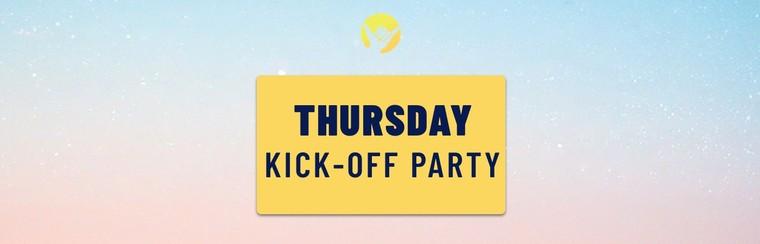Thursday Kick-Off Party