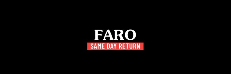 Faro Same Day Return Trip
