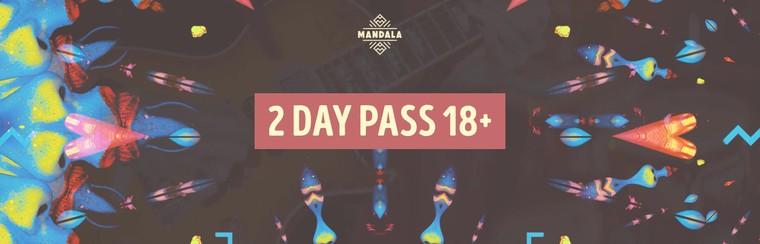 2 Day Pass 18+
