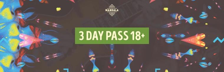 3 Day Pass 18+