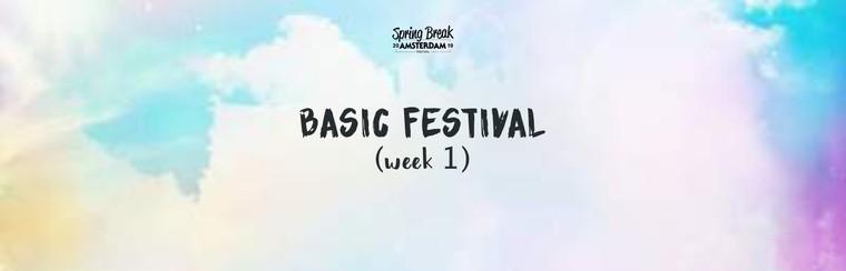 Basic Festival Ticket - Week 1
