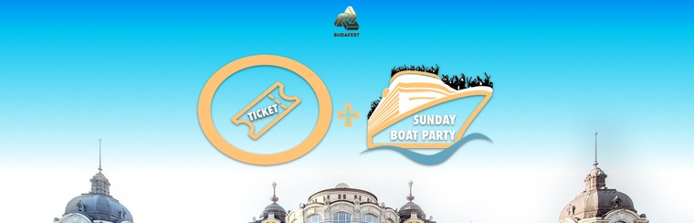 Festival Ticket + Sunday Boat Party