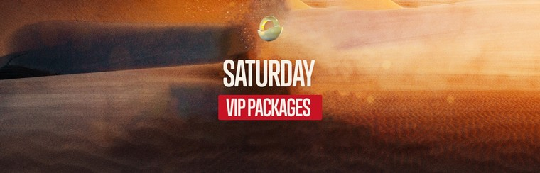 VIP EXPERIENCE - Saturday Ticket