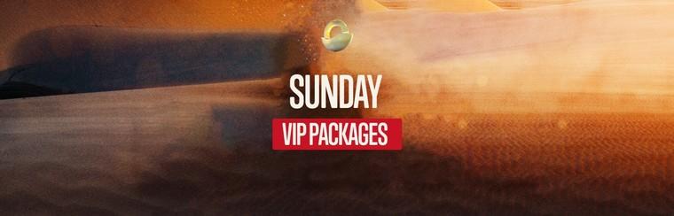 VIP EXPERIENCE - Sunday Ticket