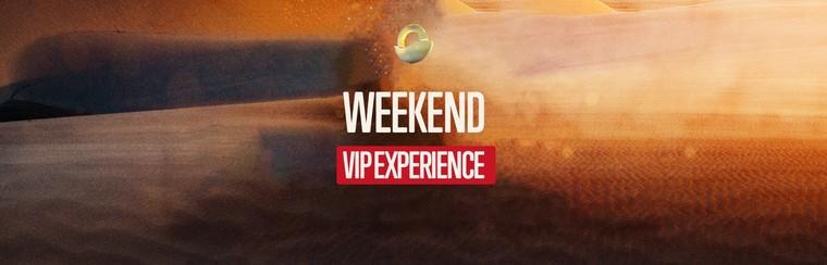 VIP EXPERIENCE - Biglietto Weekend