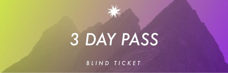 Pass 3 Jours : Vendredi 29/11 - Dimanche 01/12