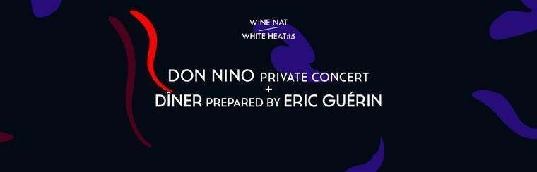Concert privé de Don Nino + Dîner préparé par Eric Guérin - Café du Musée de Nantes