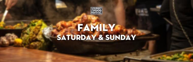Family Saturday & Sunday Ticket