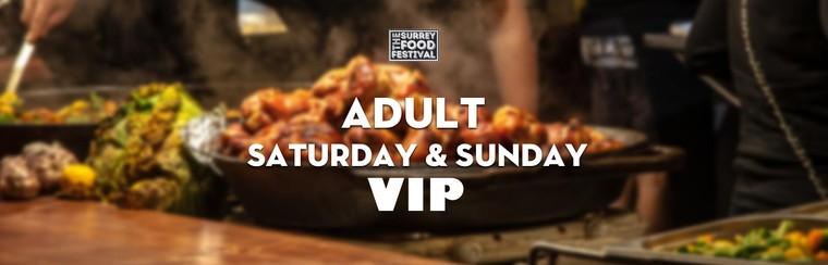 VIP Adult Saturday & Sunday Ticket