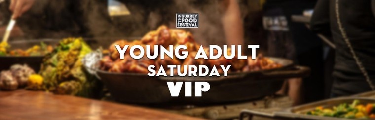 VIP Young Adult Saturday Ticket