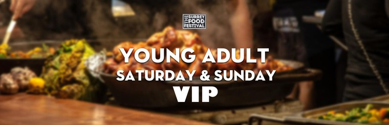 VIP Young Adult Saturday & Sunday Ticket