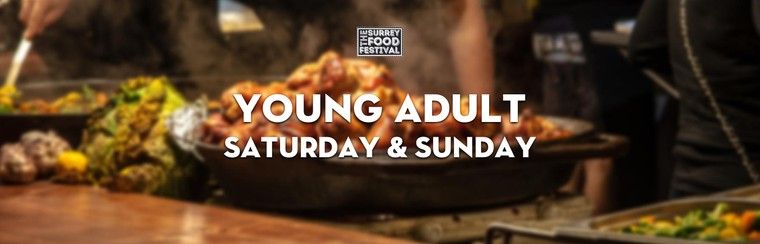 Young Adult Saturday & Sunday Ticket