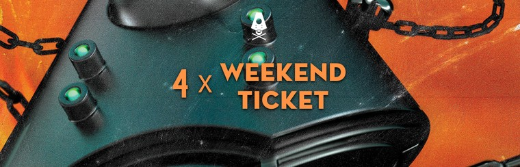 4 x Weekend Ticket