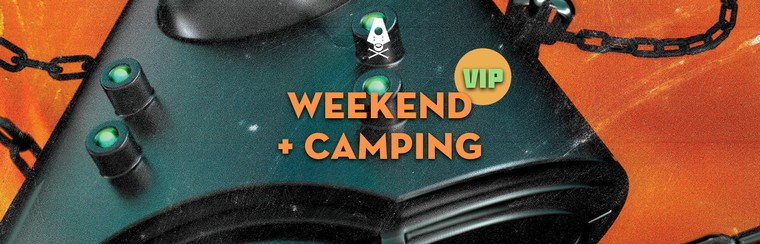 VIP Weekend Ticket + Camping