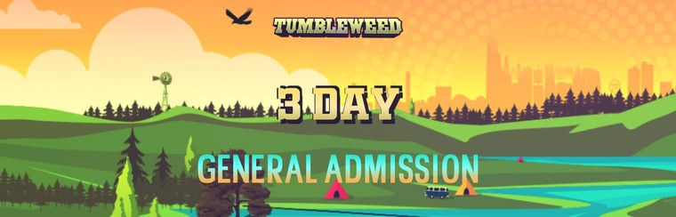 3 Day General Admission