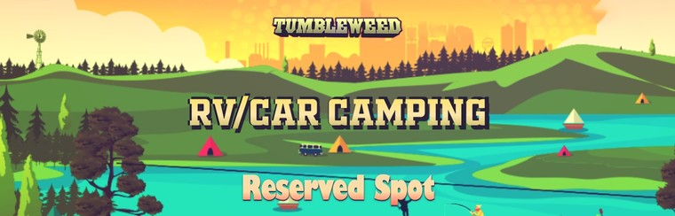 RV/Car Camping Reserved Spot