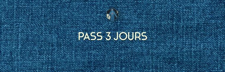 3 Days Pass