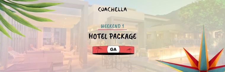 1er week-end : Package avec hôtel