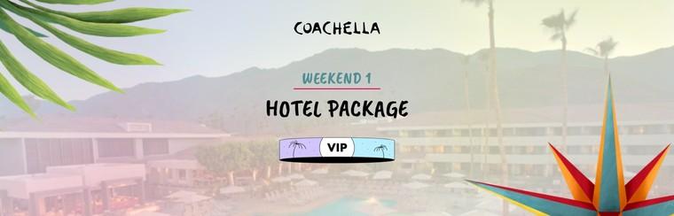 1er week-end : Package VIP avec hôtel