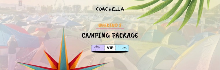 2e week-end : Packages Camping - VIP