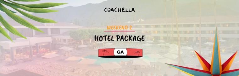 2e week-end : Package avec hôtel