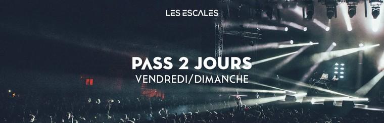 Pass 2 Jours (Vendfredi + Dimanche)