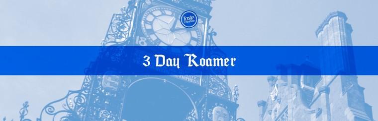3-Day Roamer Ticket