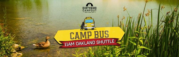 Camp Bus - 11AM Oakland Shuttle