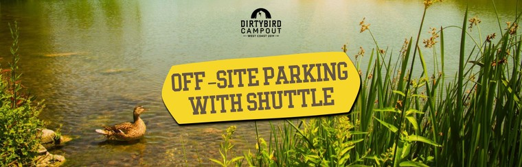 Off-Site Parking w/ Shuttle
