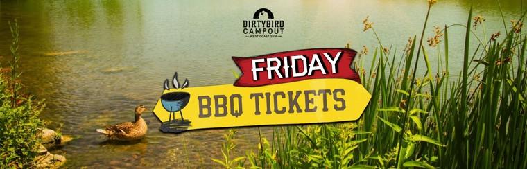 BBQ Feast Ticket - Friday