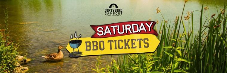 BBQ Feast Ticket - Saturday