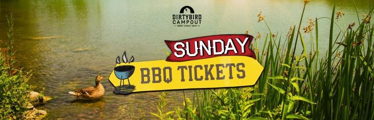 BBQ Feast Ticket - Sunday