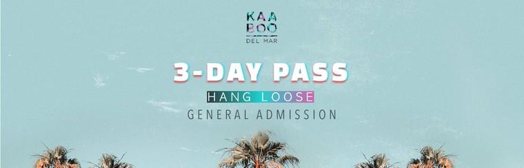 Hang Loose GA 3-Day Pass