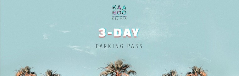 3-Day Parking Pass