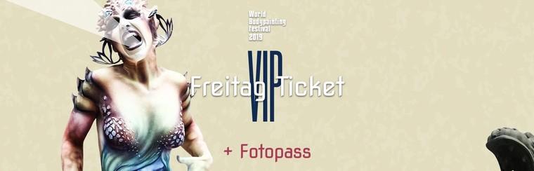 VIP Friday Ticket + Photo Pass