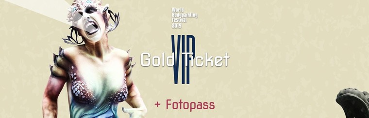 VIP Gold Ticket + Photo Pass