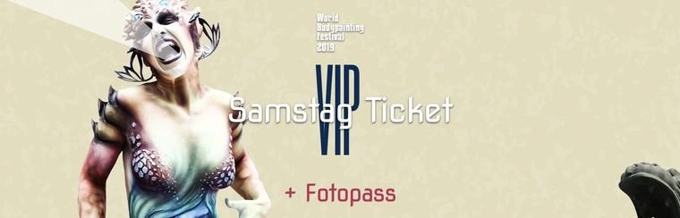 VIP Saturday Ticket + Photo Pass