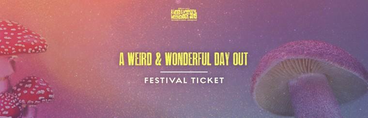 A Weird & Wonderful Day Out - Festival Ticket