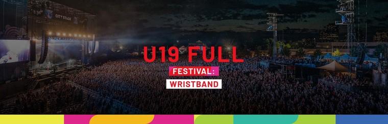 U19 Full Festival Wristband