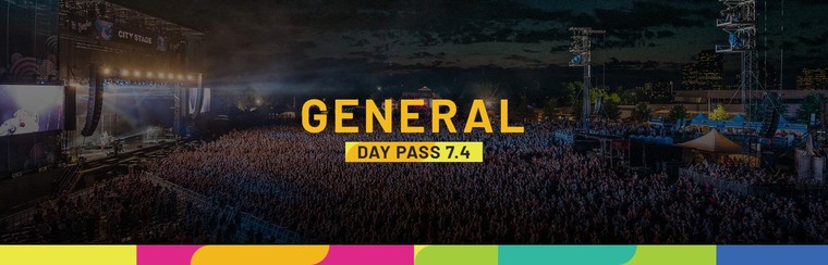 General Admission Day Pass - July 4