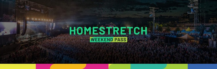 Homestretch Pass (Weekend 2 - July 11-14)