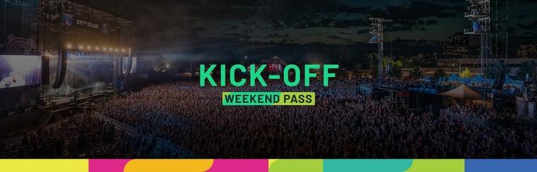 Kickoff Pass (Weekend 1 - July 4-7)
