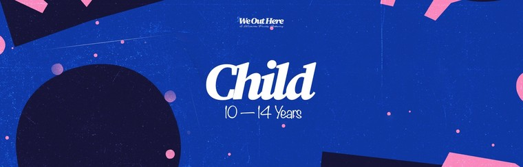 Child (10-14yrs) Festival Ticket