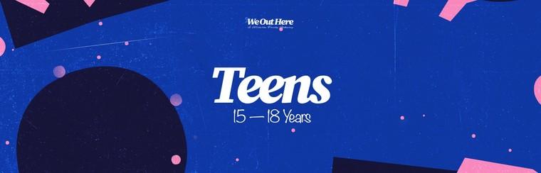 Teen (15-18 yrs) Festival Ticket