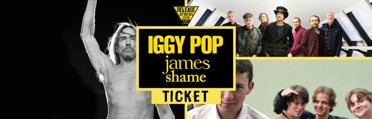 GA Ticket | Iggy Pop + James + Shame