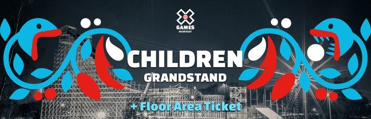 Children Grandstand + Floor Area Ticket