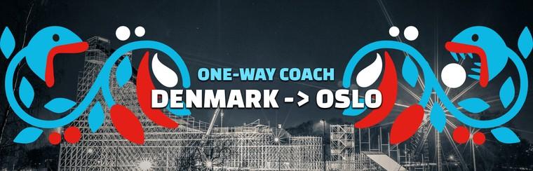One-way Coach Travel | Denmark to Oslo
