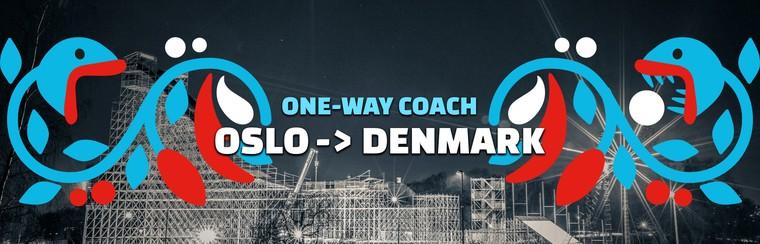 One-way Coach Travel | Oslo to Denmark