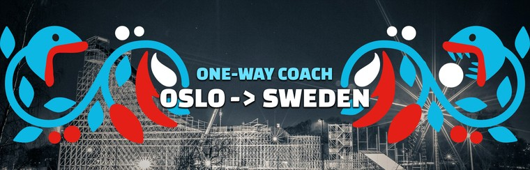 One-way Coach Travel | Oslo to Sweden