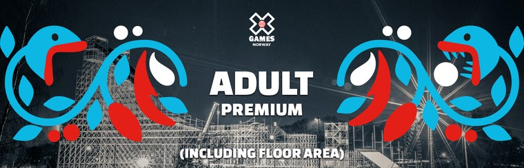 Premium Adult Ticket (Including Floor Area)